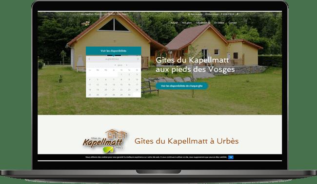Site de réservation gîte Urbès