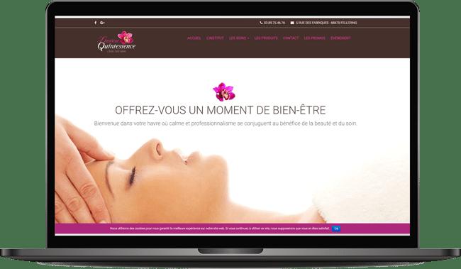 Site Internet Quintessence institut