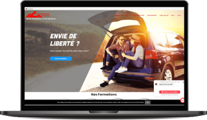 Site Internet auto ecole montaigne