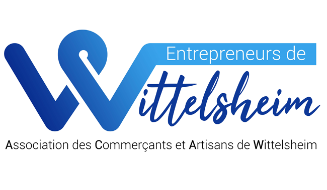 création logo association commerçant wittelsheim