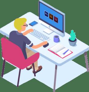 Agence de communication en création graphique, logo et charte graphique